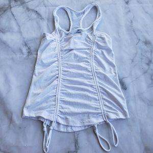90 Degree activewear ruched tank top